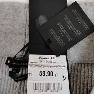 Massimo Dutti Pants & Jumpsuits - Massimo Dutti Ribbed Knit Trousers Pants Size L